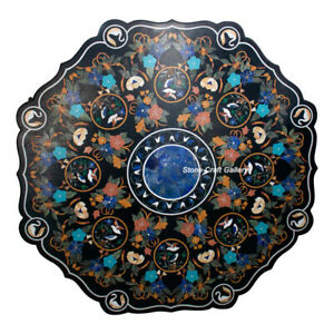 """52"""" Marble Center / Dining Table Pietra dura Handmade Home Decor & Gifts"""