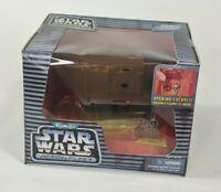 Vintage 1996 Micro Machines Star Wars Action Fleet Jawa Sandcrawler Toy