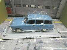 WOLGA Volga GAZ M22 M 22 Kombi blau 1965 IXO Altaya Atlas Agostini 1:43