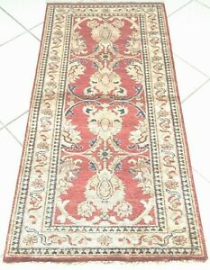 Afghan Teppich Ziegler Handgeknüpfte Orient Rot Rug Carpet Alfombra Tapes Tapijt