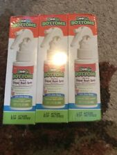 Diaper Rash Cream Spray by Boogie Bottoms, No-Rub Touch Free Application Pack 3
