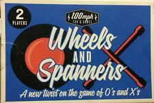 TRAVEL CARD GAME 100MPG FUN&GAMES WHEELS & SPANNERS GAME OF O AND X