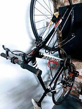Speacialized langster road bike with carbon fiber SLK black white 54 cm