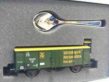 Märklin H0 94198 ged. Güterwagen m. Brhs. 150 Jahre WMF m. Löffel OVP (Z7901)