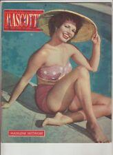 Mascotte,n°24/1957 Cinema,Madeleine Wittinger,Poster S.Lindwell,P.Bottin [g26]