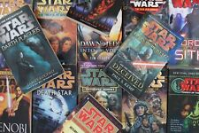 Lot of 10 Star Wars Mass Market Paperback Books MIX