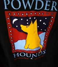 Powder Hounds-Killington Vermont- Long Sleeve Light Sweat Shirt..Black.XL (BRCR)