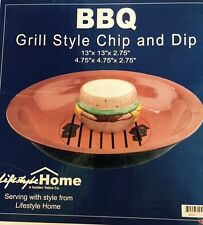 BBQ Grill Style Chip & Dip