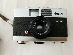 Rollei B35 35mm Film Camera, 40mm Carl Zeiss Lens, Excellent Condition