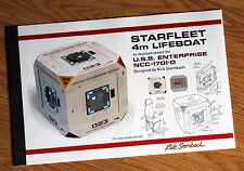 Star Trek TNG Enterprise-D 4-Meter Lifeboat Design Document