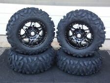 "SPORTSMAN XP 850/1000 27"" QUADKING 14"" HD7 SMK ATV TIRE & WHEEL KIT  POL1CA"