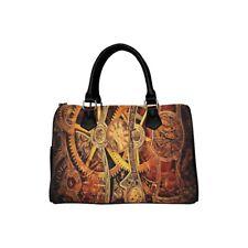 Steampunk Gears Barrel Hand Bag Handbag