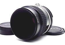 Nikon Ai-s Micro-Nikkor 55mm F2.8 MF Ais Lens w/Cap *Exc+++++* From Japan *36