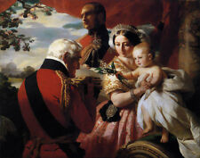 Winterhalter Xaver Franz Queen Victoria And The Duke Of Wellington Print  #3182