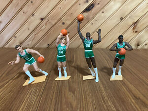 STARTING LINEUP - NBA BASKETBALL LOT- 4 Boston Celtics Figures