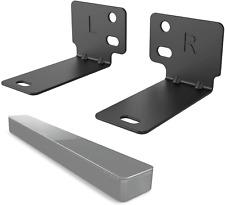 Sound Bar Bracket Mount Universal Soundbar Speaker Steel Stand Mounting Brackets