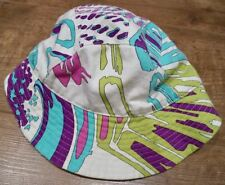 52b76332 EMILIO PUCCI Multicolour Cotton Soft Brim Front Branded Lined Baseball Cap  Hat