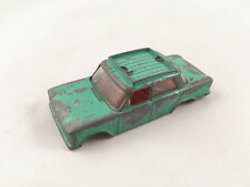 VINTAGE MATCHBOX LESNEY # 56B FIAT 1500 ORIGINAL DIECAST CAR BODY GREEN 1966