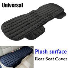 Black Rear Back Row Car Seat Cover Protector Mat Auto Chair Cushion Accessories (Fits: Saab)