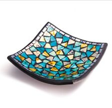 FAIR TRADE SQUAR MOSAIC DISH
