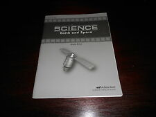 Abeka SCIENCE Earth and Space Teacher Quiz Key homeschooling 8th grade