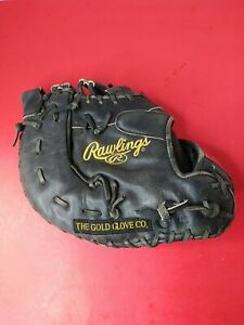 Rawlings Gold Glove Series GGDCTB Black Catchers Mitt. GREAT USED CONDITION