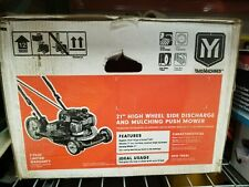 """New in Box - Yard Machines 21"""" Side Discharge and Mulching Push Lawn Mower"""