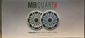 "MBQuart - NK1120L - 2 x 8"" Illuminated Coaxial Nautic Speakers System"