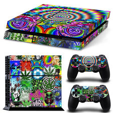 PS4 Skin & Controllers Skin Vinyl Sticker For PlayStation 4 Weed 420 Collage