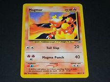 Pokemon Neo Genesis Set UN-COMMON Magmar 40/111 - NM/M Condition