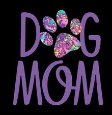 """Dog Mom Decal in Purple - 3"""" x 3"""" for Insulated Cups 16, 20 or 30 oz"""