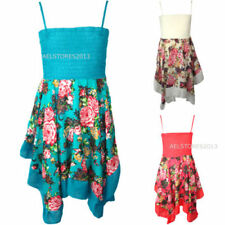 Polyester Summer Holiday Dresses for Girls