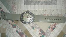 Vtg Swatch Irony Scuba 200 Watch-Aluminum-Working/New Battery-Scratched Crystal