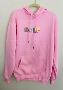 "Tyler The Creator ""GOLF"" 2XL Pink Hoodie"