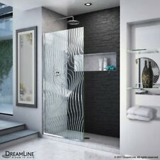 "Dreamline Linea Platinum Surf 34"" x 72"" Single Panel Shower Door D3234721M11-08"
