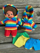 Kleidung für MONCHICHI Bär Teddy Gr. 20 cm Hoodie Kapuzenpulli + Hose mix it