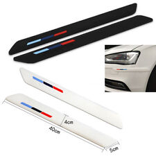 400mm Car Front Rear BUMPER LIP/SIDE SCRATCH PROTECTOR STRIP GUARD 2pcs