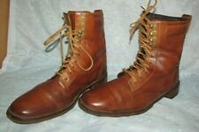 Men's COLE HAAN NikeAir Brown Leather Lace Up Boots Size 11 1/2