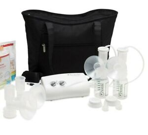 Ameda Finesse Double Electric Portable Breast Pump Accessories Bag