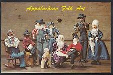 Childrens Toys Postcard - Appalachian Folk Art - Hand-Made Dolls   DR406