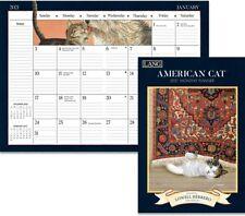 AMERICAN CAT - 2021 MONTHLY PLANNER CALENDAR - BRAND NEW - LANG ART 12094