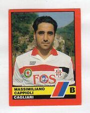 figurina CALCIATORI D'ITALIA VALLARDI 1989-90 NUMERO 427 CAGLIARI CAPPIOLI