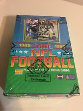 1989 SCORE FOOTBALL UNOPENED WAX BOX 36 PACKS BBCE AUTHENTICATED!!!