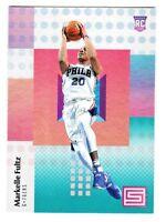 2017-18 Panini Status AQUA PARALLEL #108 MARKELLE FULTZ RC Rookie 76ers