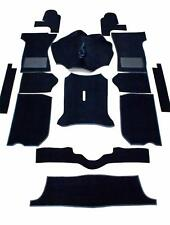 Triumph Spitfire Full Black Carpet Set - High Quality