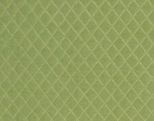Quilted Velvet Furniture Upholstery Fabric Lime Green Matelasse IL10