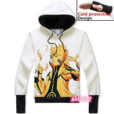 Anime NARUTO Uzumaki Naruto Unisex Sweatshirt Hoodie Coat pullover Jacket #C-65
