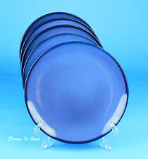 Set of 2 Dinner Plates, SUPERB Condition! HTS24  Blue, Home Trends