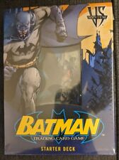 DC VS SYSTEM CCG **BATMAN** STARTER SET- SEALED!!! MINT CONDITION - NEW IN BOX