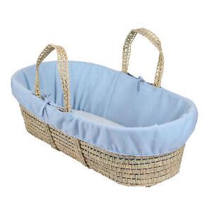 Clair de'Lune Fleece Easy Fit Baby Moses Basket Liner